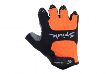 gants courts spiuk 2017 vtt top ten orange xl