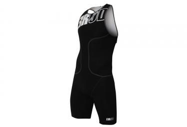 combinaison de triathlon z3r0d osuit olympic noir blanc m
