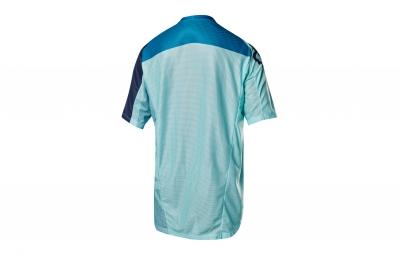 maillot manches courtes fox demo bleu xl
