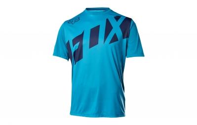 maillot manches courtes fox ranger bleu s