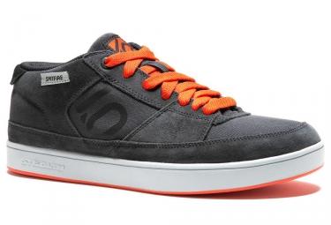 paire de chaussures fiveten 2017 spitfire gris orange 40