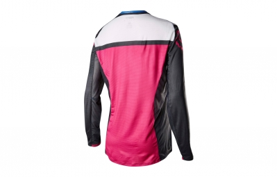 maillot manches longues femme fox flexair noir rose m