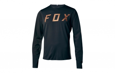 Maillot manches longues fox attack pro noir s