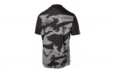 maillot manches courtes fox indicator ss gris camo l
