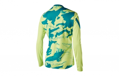 maillot manches longues femme fox ripley jaune camo l