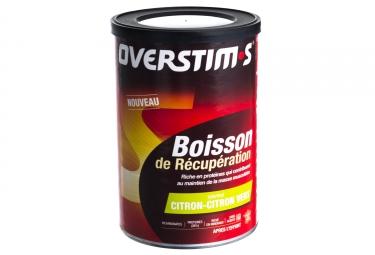 OVERSTIMS Boisson de Récupération 400g Citron-Citron Vert