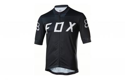 maillot manches courtes fox ascent noir l