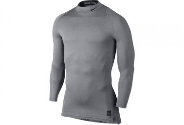 maillot de compression nike pro gris m