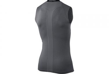 maillot sans manches de compression nike pro gris m