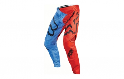 pantalon fox demo bleu rouge 34