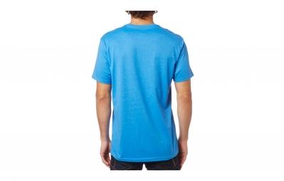t shirt fox eyecon photo bleu m