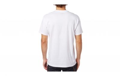 t shirt fox dormant blanc m
