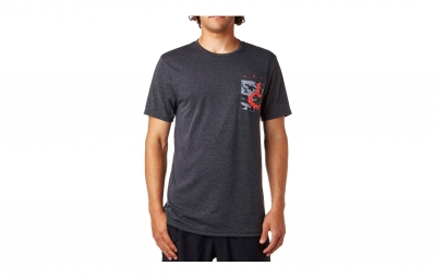 t shirt technique fox eyecon pocket noir l