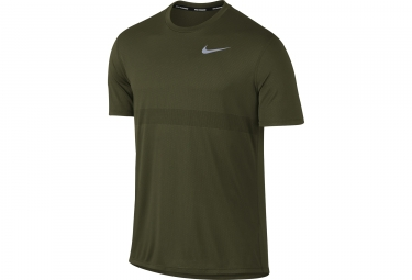 Maillot Manches Courtes NIKE Zonal Cooling Relay Vert