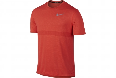 Maillot Manches Courtes NIKE Zonal Cooling Relay Orange