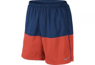 Short NIKE FLEX Bleu Orange