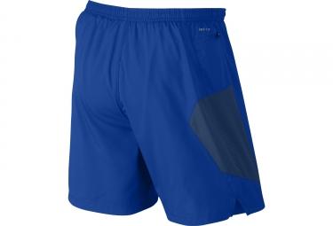 Short 2-en-1 NIKE PURSUIT 18cm Bleu Vert
