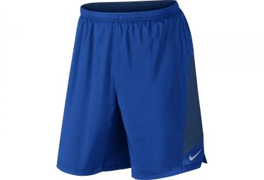 Short 2 en 1 nike flex bleu s