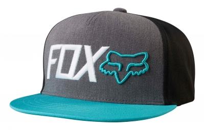 Casquette Fox Obsessed Snapback Gris Bleu