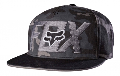 Casquette Fox Keep Out Snapback Camo