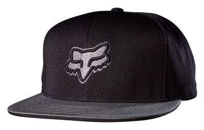 Casquette Fox Slasher Head Snapback Noir