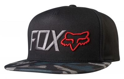 Casquette Fox Obsessed Snapback Noir Camo