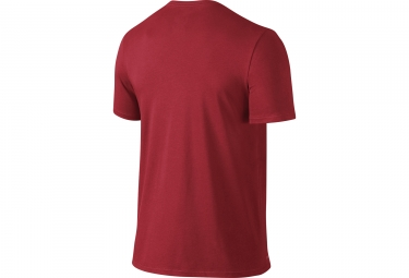 maillot manches courtes nike dry training rouge s