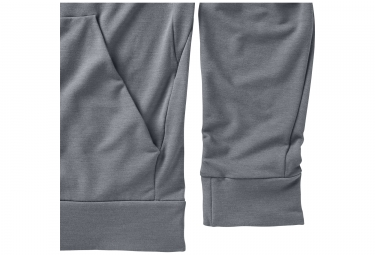 sweat a capuche homme nike dry training gris s
