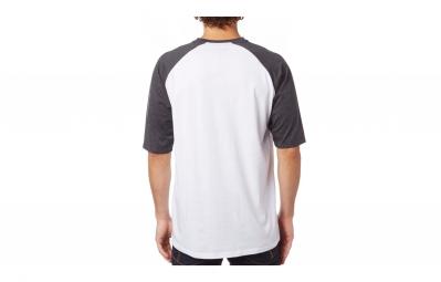 t shirt fox moth blanc noir l