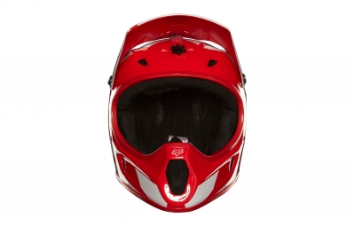 casque integral fox rampage race rouge blanc m 57 59 cm