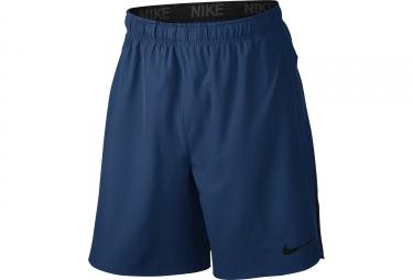 Short NIKE FLEX Training Bleu
