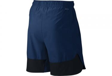 short nike flex training bleu s