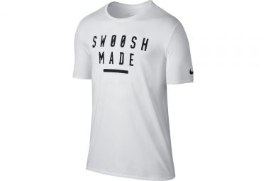 Maillot Homme NIKE DRY SWOOSH MADE Blanc