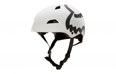 casque bol fox flight hardshell eyecon blanc l 59 61 cm