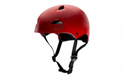 casque bol fox flight sport hardshell rouge l 59 61 cm