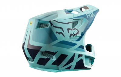 Fox Rampage Pro Carbon Seca Mips Full Face Helmet Blue