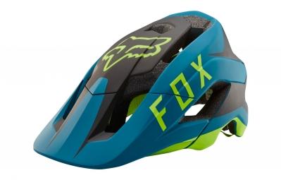 casque fox metah flow bleu vert xl xxl 59 64 cm