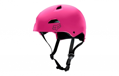 casque bol fox flight sport hardshell rose m 55 58 cm