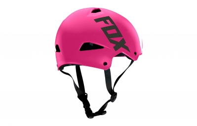casque bol fox flight sport hardshell rose l 57 58 cm