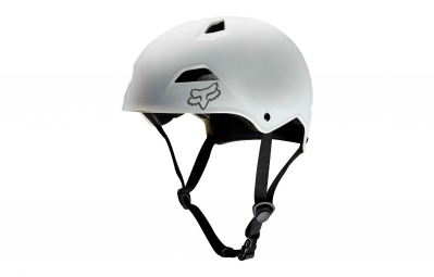 casque bol fox flight sport hardshell blanc m 55 56 cm