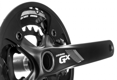 SRAM Pédalier GX 1000 GXP (Boitier non inclus) 24-38 Dents 10V Noir