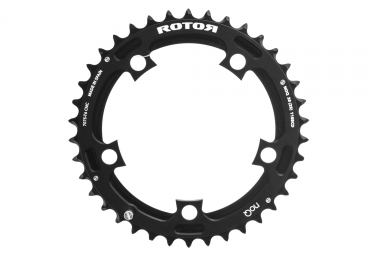 Plateau rotor noqx2 externe 110mm noir 40