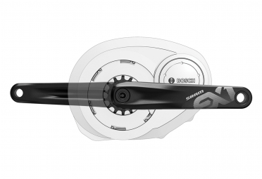 Manivelles SRAM EX1 Pour E-Bike Bosch / Brose / Yamaha Noir