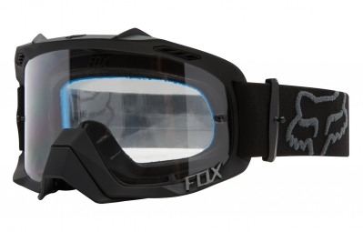 masque fox air defence noir ecran transparent
