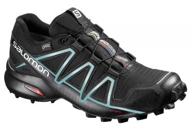 Zapatillas Salomon SPEEDCROSS 4 GTX  para Mujer Azul / Negro