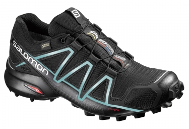 SALOMON SPEEDCROSS 4 GTX Women´s Shoes Black Blue