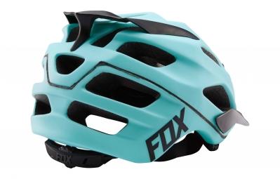 casque fox flux bleu xs s 50 54 cm