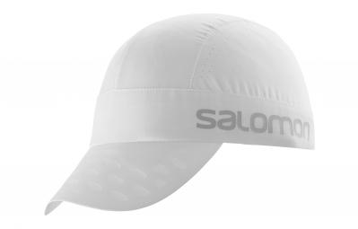Casquette salomon race blanc