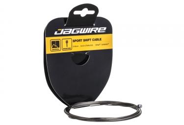cable de derailleur jagwire inox 1 1mm x 3100mm sram shimano