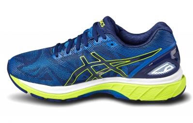 Chaussures de Running Asics Gel Nimbus 19 Bleu / Jaune